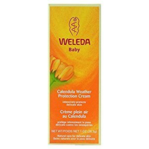 Weleda Baby Calendula Weather Protection Cream (30ml) - Pack of 6