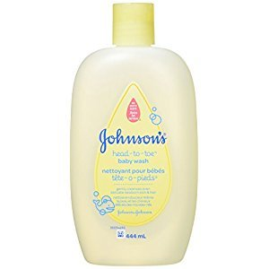 Johnson's Head to Toe Baby Wash Ultra Mild Cleanser, 444 ml