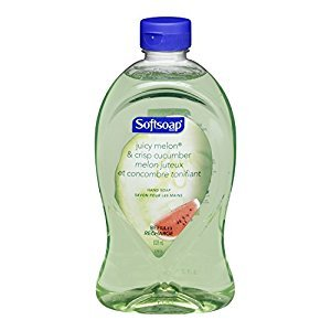 Softsoap Hand Soap Refill, Juicy Melon & Cucumber, 828 Milliliter