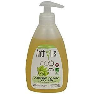 ANTHYLLIS - Face Washgel with Grape Extracts - Organic, Vegan, Nickel Tested, made in Italy