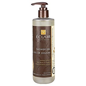 Eclair Naturals Shower Gel - Shea Butter and Oatmeal - 12 oz.