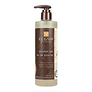 Eclair Naturals Shower Gel - Vanilla and Sweet Orange - 12 oz.