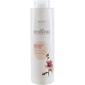 MATERNATURA - Mallow Shower Cream Gentle cleansing - suitable for sensitive skin - Organic, vegan, made in Italy