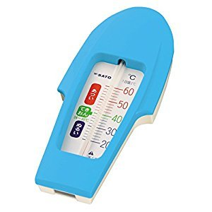 B021Floatable Thermometer for Bath (Boat Type : Blue)1pc. by PIP-FUJIMOTO
