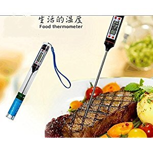 king's store , electronic thermometer, temperature test,baby bottles the temperature of the coffee, steak, barbecue and baking cooking thermometer, bath water temperature test
