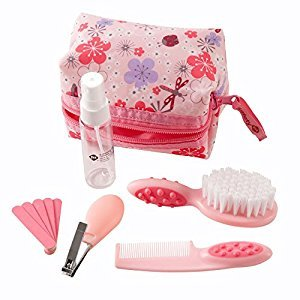 Safety 1st Grooming Kit 10 Pieces, Pink