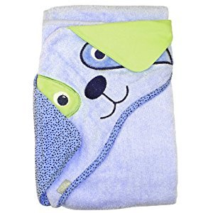 Dog - Extra Large Absorbent Hooded Towel, 100 cm X 75 cm By Frenchie Mini Couture