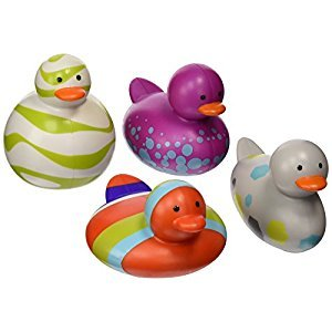 Boon Odd Duck, 4-Pack, 4-Pack, Purple Set