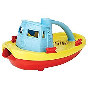 Green Toys My First Tug Boat - Blue