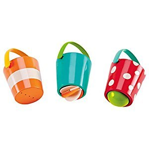 Hape E0205 Kids Little Splashers Happy Buckets Set Bath Toy