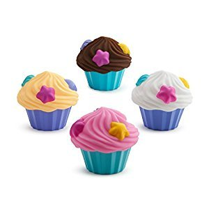 Munchkin 4 Cupcake Squirts, Pink/Yellow/White/Brown