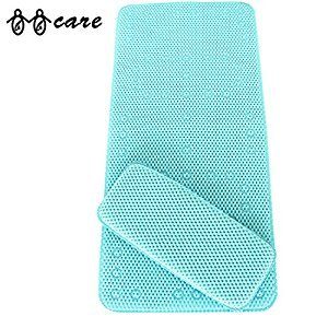 BBCare® Non-slip&Extra Large Bath Mat with Soft Kneelers(Bath pillow)