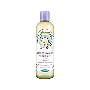 Earth Friendly Baby Calming Lavender Bubble Bath ECOCERT 300ml - Pack of 4