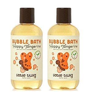 Little Twig Bubble Bath Tangerine 8.5 oz (2 Pack)
