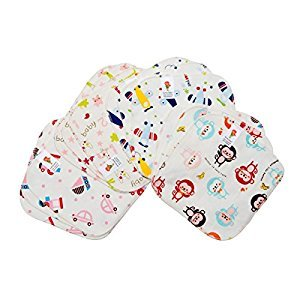 PROMOTION! Multi-purpose Bamboo Washable and Reusable Cloth Wipes (12/pack)-Nature