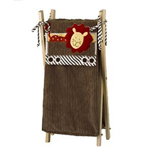 Cotton Tale Designs Animal Tracks Hamper With Frame