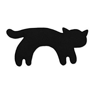 Leschi Warming pillow (for babies) | 36476 | Minina the cat | standing | small | Colour: Midnight / Midnight
