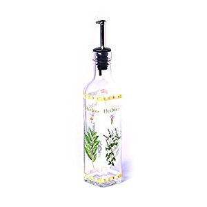Mediterranean Culture - Bottle with Spout for Oils, Botanica, 270ml