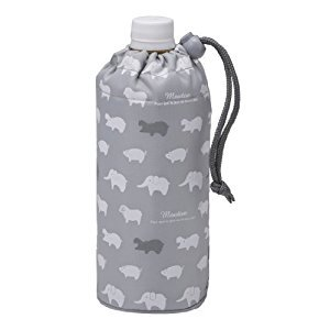 TORUNE bottle cover Animal (GY) P-2906 (japan import)