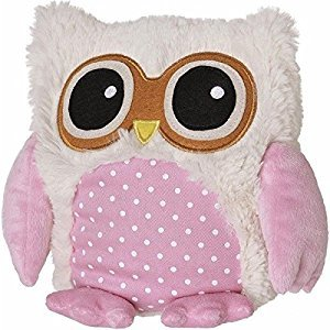 Warmies Pop Owl Beige - Lavender Scent - Removable