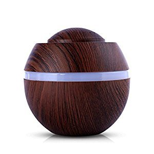 Essential Oil Diffuser,St.Dona 500ml Air Aroma Humidifier Ultrasonic LED 7 Color Changing Essential Oil Diffuser Home Humidifier (A)