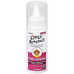 Little Remedies Little Noses Sterile Saline Nasal Mist - 2 oz, Pack of 6