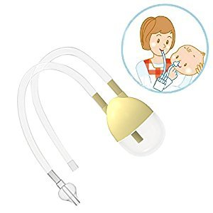 Nose Cleaner - New Born Baby Safety Nose Cleaner Vacuum Suction Nasal Aspirator Bodyguard Flu Protection Accessories BM - Nasal Aspirator