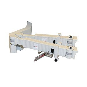 Gemini Jets GJARBRDG2 Airport 3 Pack Duel Wide Body Jet Bridges & Airport Adaptors Set 1:400 by Gemini Jets