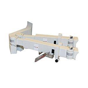 Gemini Jets GJARBRDG2 Airport 3 Pack Duel Wide Body Jet Bridges & Airport Adaptors Set 1:400 by Gemini Jets