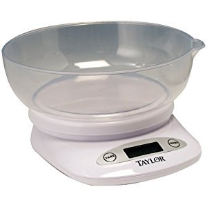TAYLOR 380444 4.4lb-Capacity Digital Kitchen Scale with Bowl Home, garden & living by Taylor Dresses
