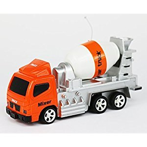Tech Toyz Rechargeable Wireless Remote Control Mixer Truck, 1:64 Scale by Tech Toyz