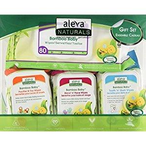 Aleva Naturals Bamboo Baby Gift Set