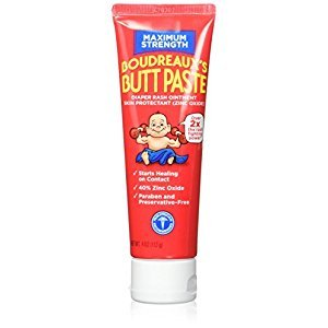 Boudreauxs Maximum Strength Butt Paste - 4 Oz (Pack of 2)