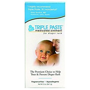 Triple Paste Ointment, Medicated, for Diaper Rash, 2 oz.