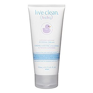 Live Clean Baby Colloidal Oatmeal Eczema Cream, 170ml