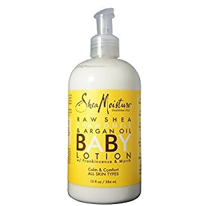 Shea Moisture Baby Lotion 13oz Raw Shea Chamomile & Argan Oil