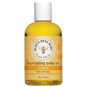 Burt's Bees Bee Nourishing Baby Oil 4 oz