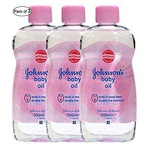 Johnson's Baby Oil (300ml) (Pack of 3)