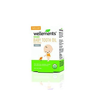 Wellements Baby Tooth Oil, .05 Oz
