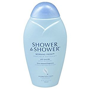 Shower to Shower Body Powder - Morning Fresh 8 oz. (Pack of 2)