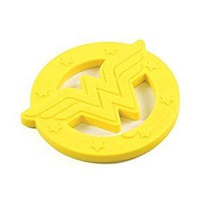Bumkins DC Comics Teether - Wonder Woman, BK310