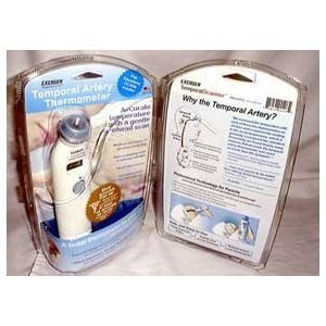 Exergen Temporal Artery Thermometer with Silver Ion Antimicrobial Head by EXERGEN!