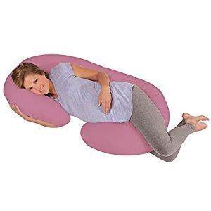 Leachco Snoogle Original Total Body Pillow, Mauve