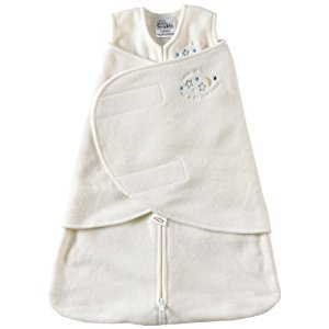 HALO 2155 SleepSack Micro-Fleece Swaddle Small Cream