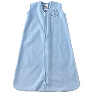 HALO 2164 SleepSack Micro-Fleece Wearable Blanket X-Large Light Blue