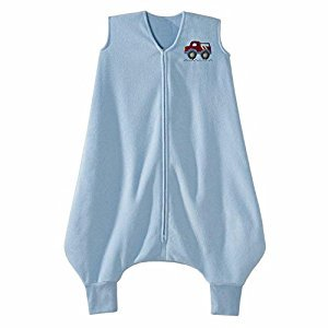 HALO Big Kids SleepSack Wearable Blanket M-Fleece Blue Truck 2-3T CANADA