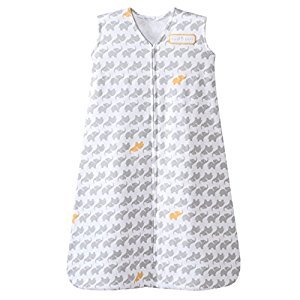 Halo Innovations SleepSack Cotton Elephant Graphics, Grey, Small