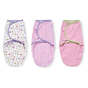 Summer Infant SwaddleMe Cotton, Who Loves You, 3-Pack