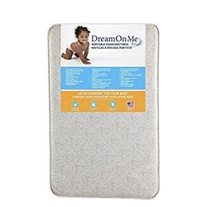 Dream On Me 3-Inch Foam Graco Pack N Play Mattress