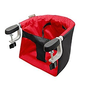 Mountain Buggy Pod Clip-on Highchair, Chili, 1 Pack